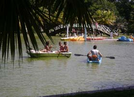 Parque Josone Varadero Boats